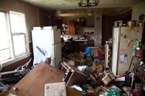 画像:ゴミ屋敷の掃除もOK